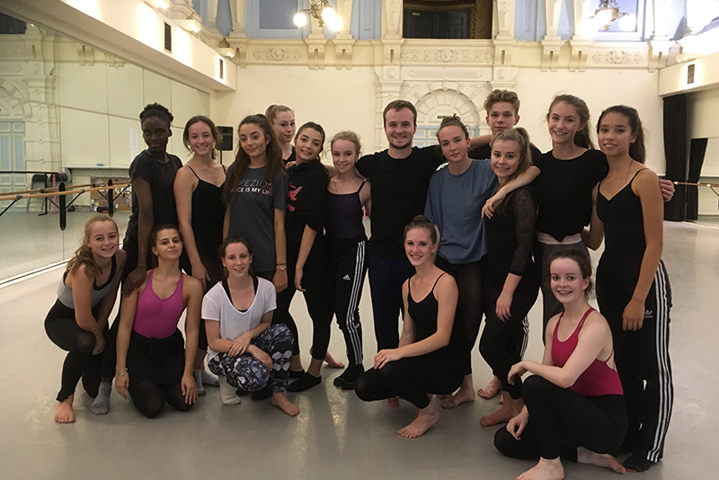 ENBYouthCo with Charlie Brittain © Jo Meredith