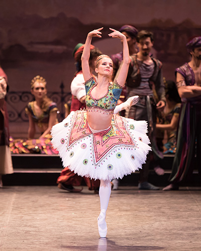 English National Ballet's dress rehearsal of Le Corsaire