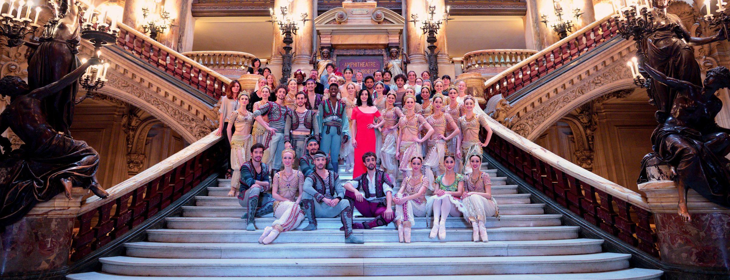 English National Ballet at the Palais Garnier © Laurent Liotardo
