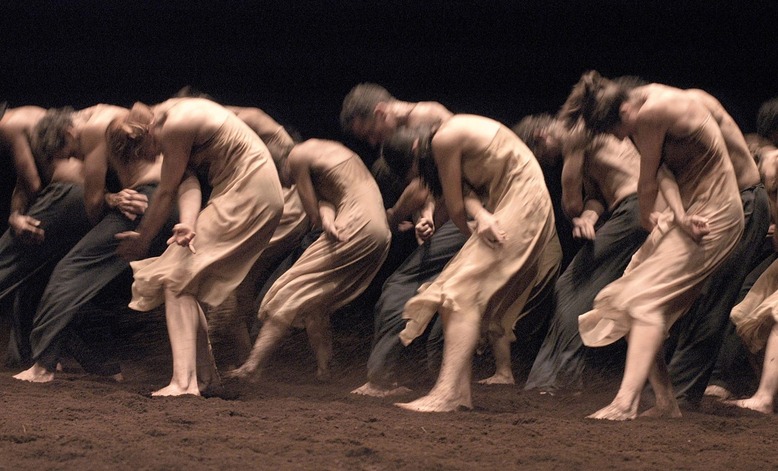 Le Sacre du printemps Ensemble photo by Ulli Weiss Copyright Pina Bausch Foundation