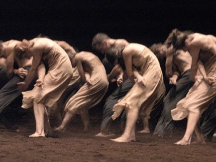 Experiencing Pina Bausch: ENBYouthCo workshop