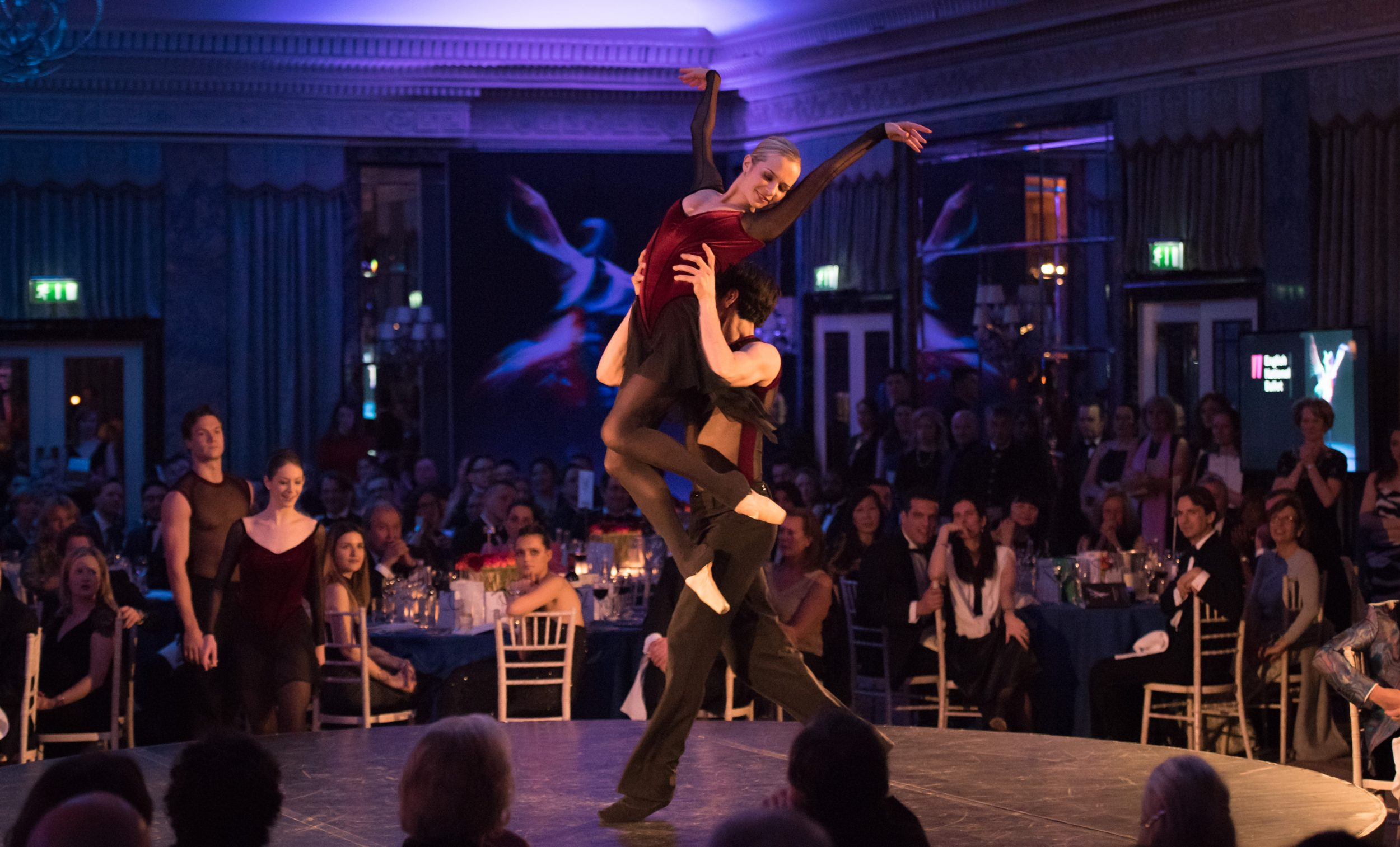 Katja Khaniukova and Cesar Corrales performing at last year's Spring Into Motion Gala. © Photography by ASH