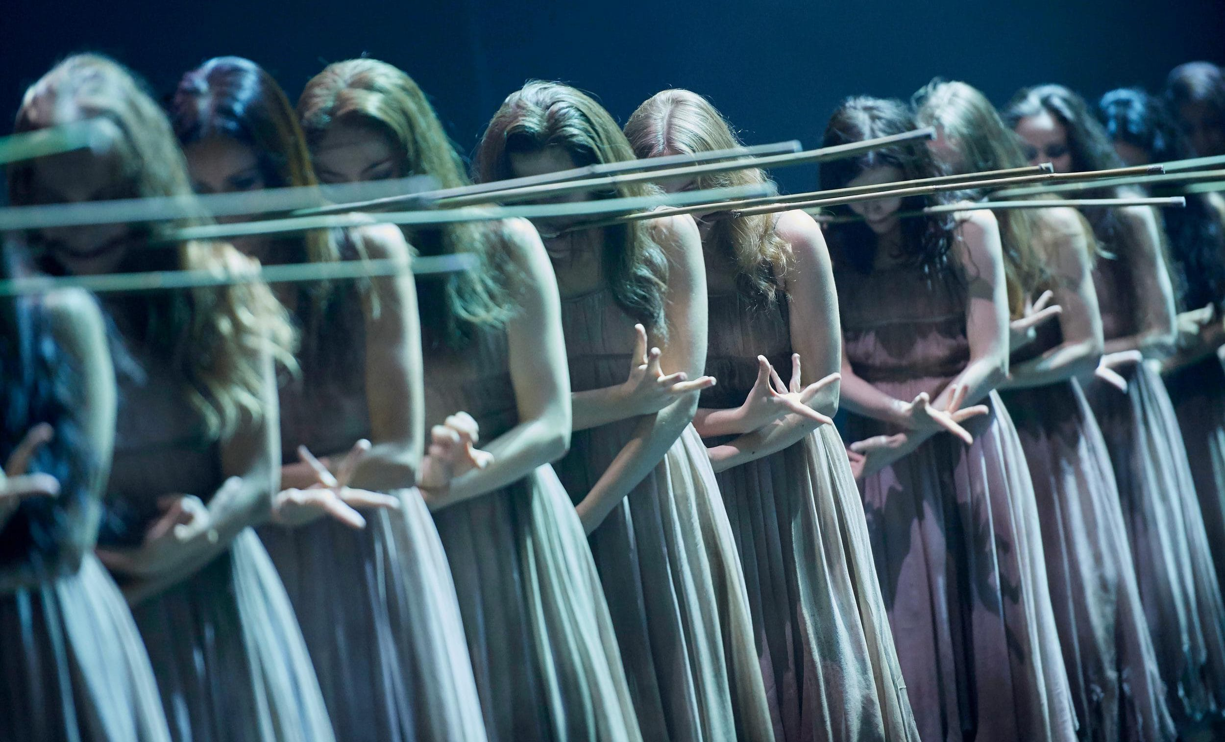 Artists of the Company in Akram Khan's Giselle © Laurent Liotardo
