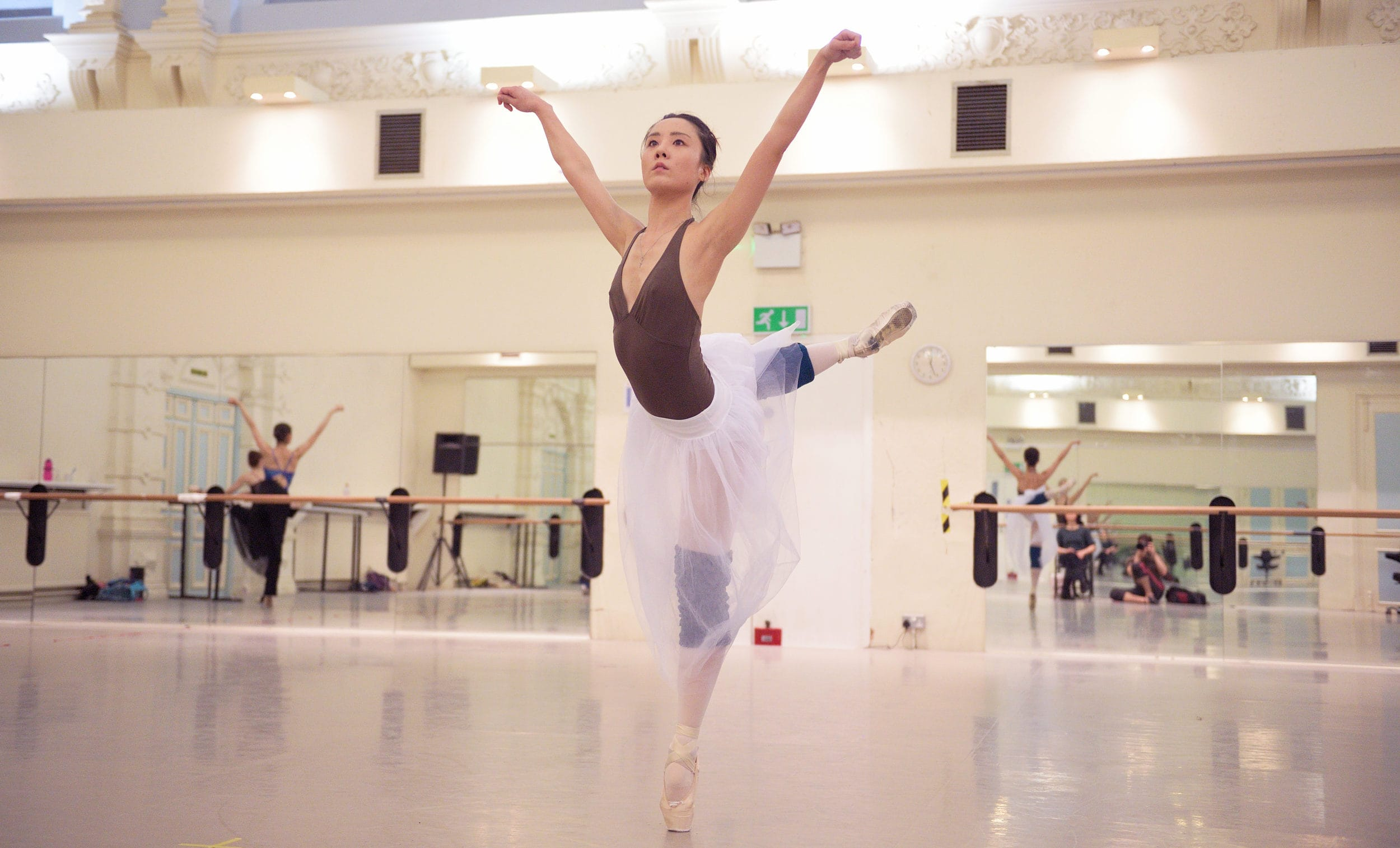 Jung ah Choi in rehearsals for Mary Skeaping's Giselle © Laurent Liotardo