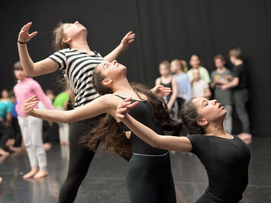 Dance Journeys 2019 in rehearsals © Laurent Liotardo.