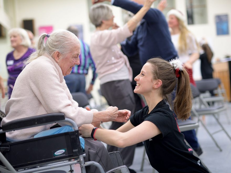 Dance for Parkinson's  © Laurent Liotardo