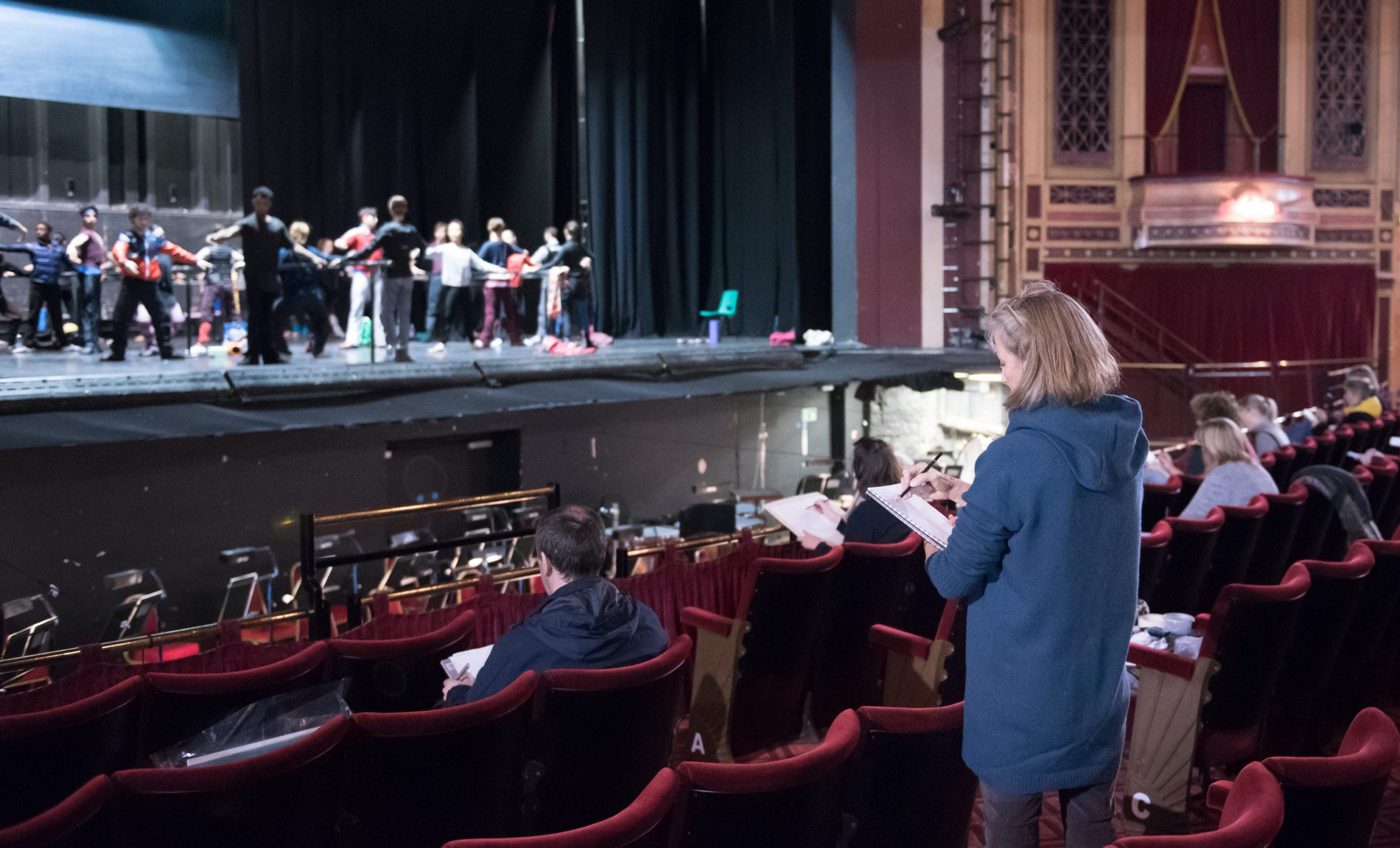 English National Ballet - Live Drawing Workshop