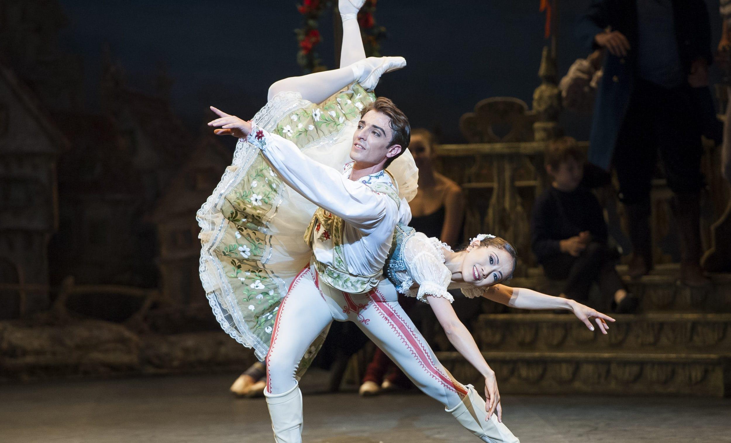English National Ballet's Coppélia rehearsal at the Coliseum, St Martin's Lane, London, 22nd July 2014.