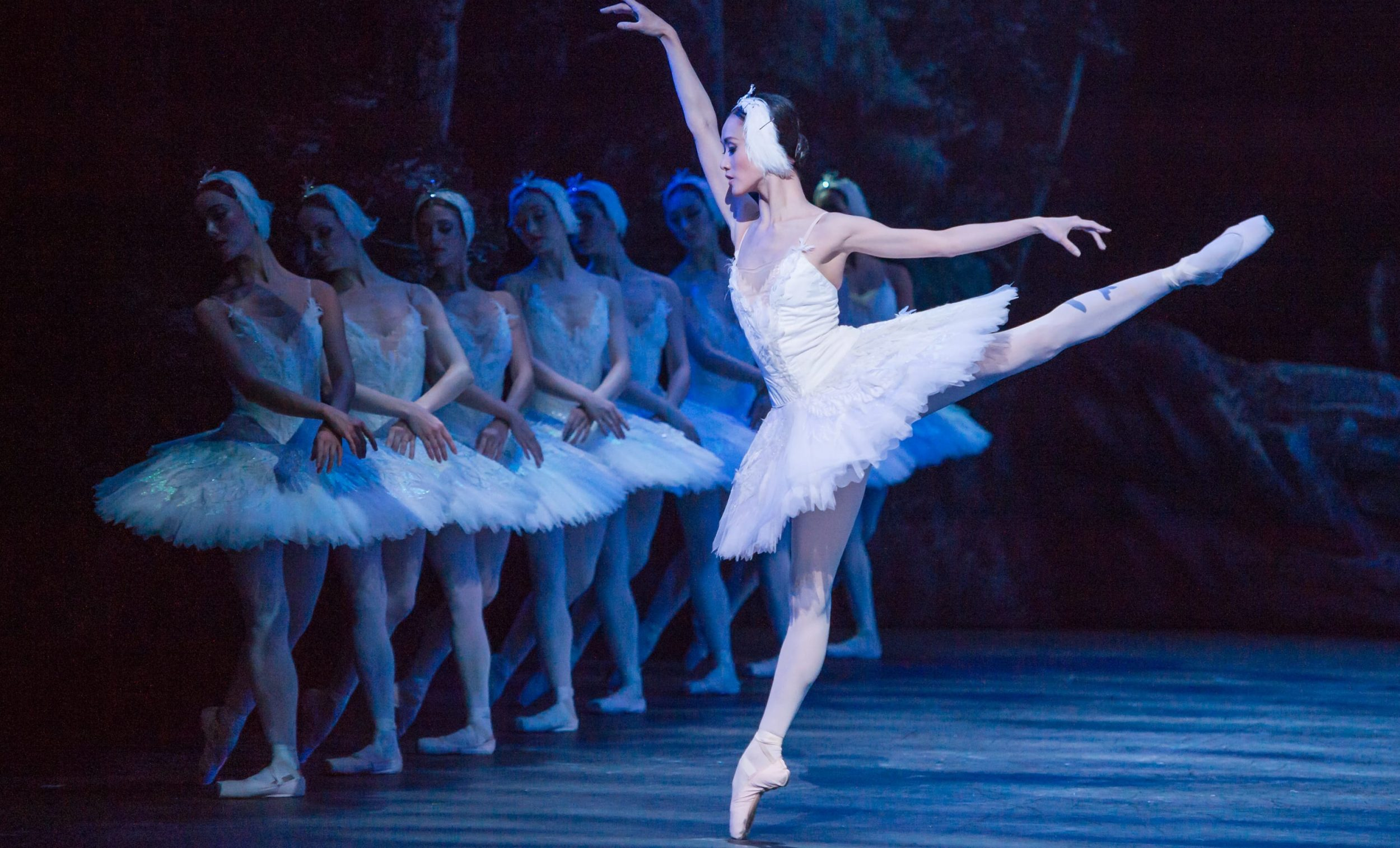 English National Ballet's Swan Lake dress rehearsal