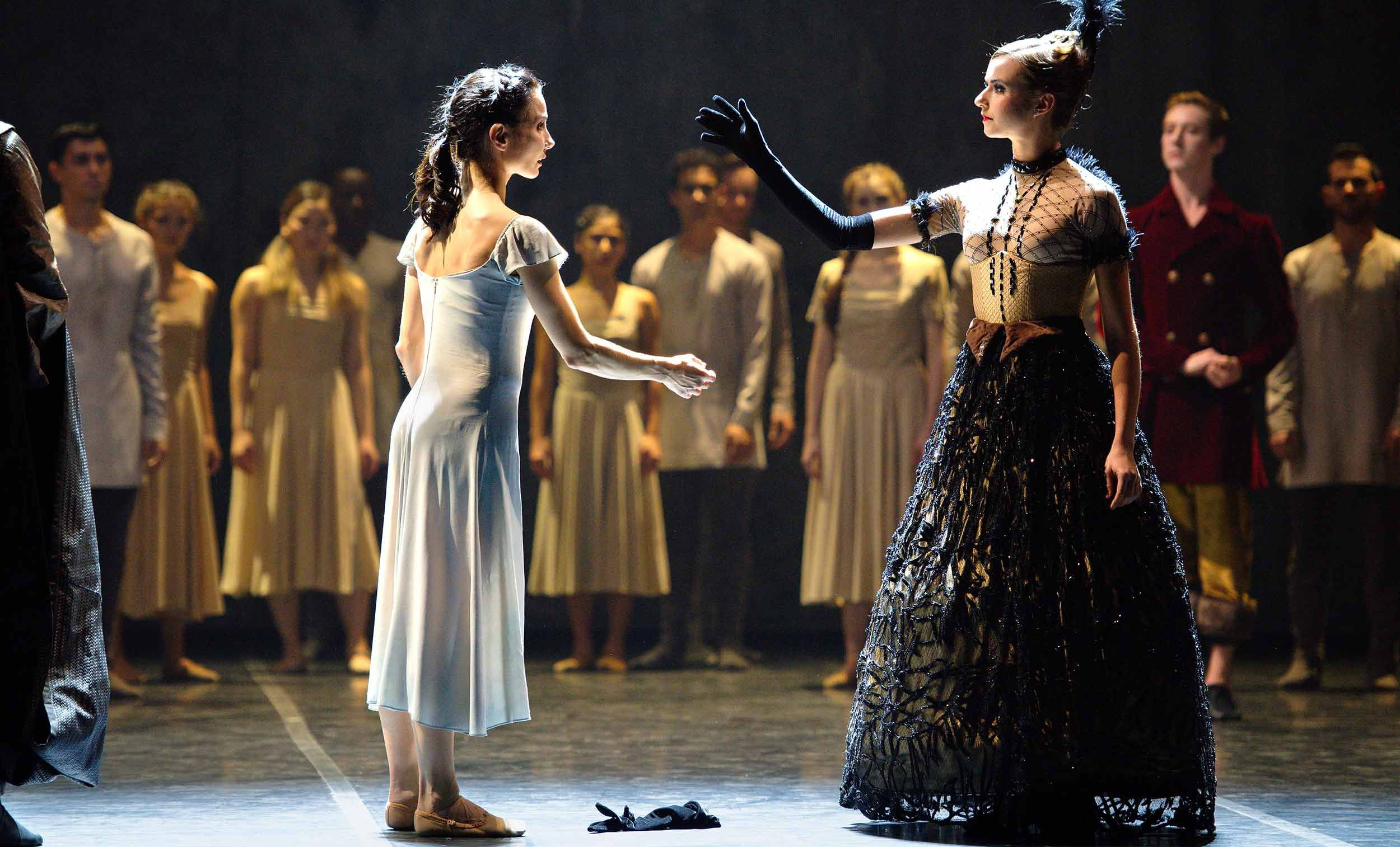 WEB-Tamara-Rojo-and-Isabelle-Brouwers-in-Akram-Khan's-Giselle-(c)-Laurent-Liotardo