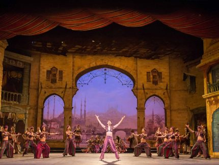 Meet the characters of Le Corsaire