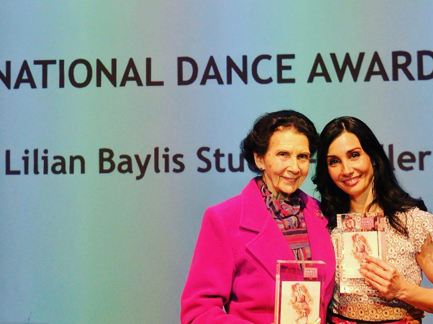 Artistic Director Tamara Rojo and President Dame Beryl Grey at the National Dance Awards 2016