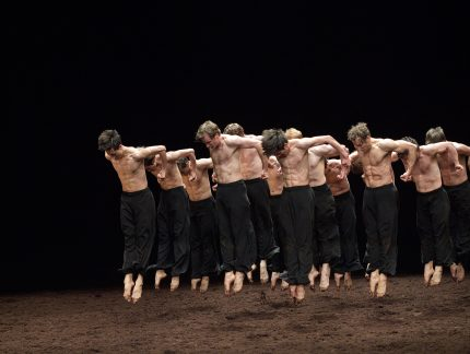 English National Ballet in Pina Bauch's Le Sacre du printemps (The Rite of Spring)