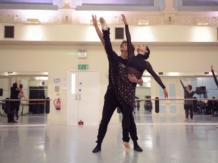 Tamara-Rojo-and-Isaac-Hernandez-rehearsing-Adagio-Hammerklavier-(c)-Laurent-Liotardo