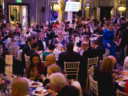 Our annual gala raises £305k to support our work