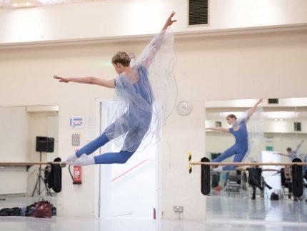 James Hobley on dancing in My First Ballet: Cinderella