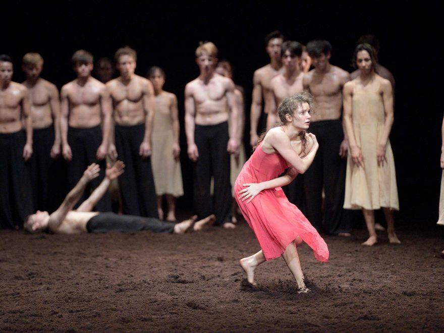 Francesca Velicu in Pina Bausch's Le Sacre du printemps by English National Ballet