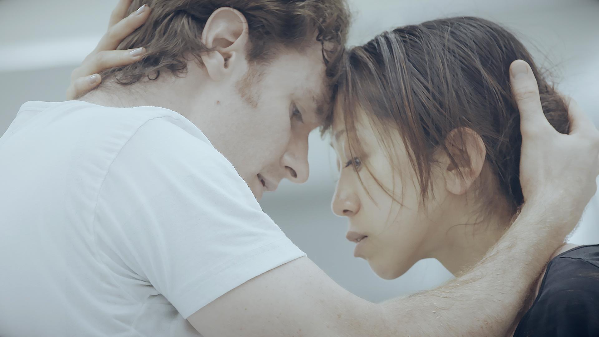 Akram Khan's Giselle Rehearsal - James Streeter and Erina Takahashi