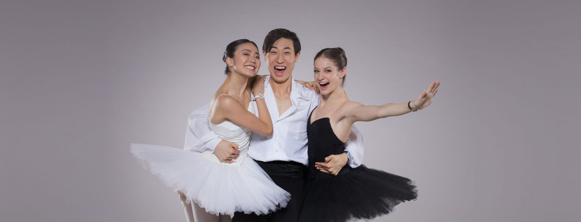 Image: Principal Shiori Kase, First Artist Jinhao Zhang and Principal Laurretta Summerscales © Johan Persson