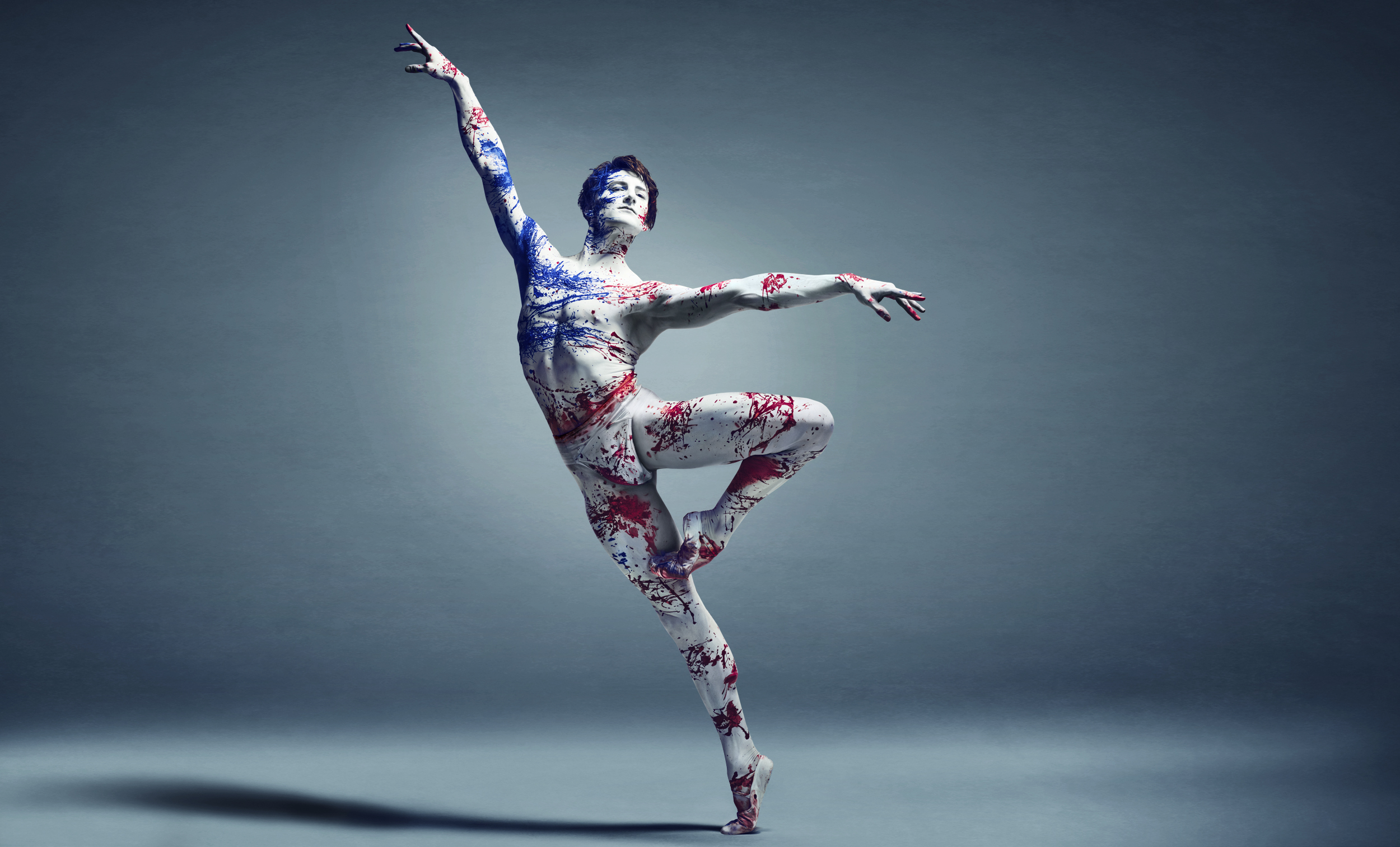 Voices of America - Dancer: Aaron Robison - Photo © Jason Bell Art Direction Mia Matson