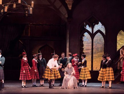 Meet the characters of La Sylphide