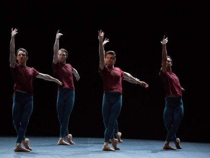 """An amazing experience"": our dancers on working with William Forsythe"