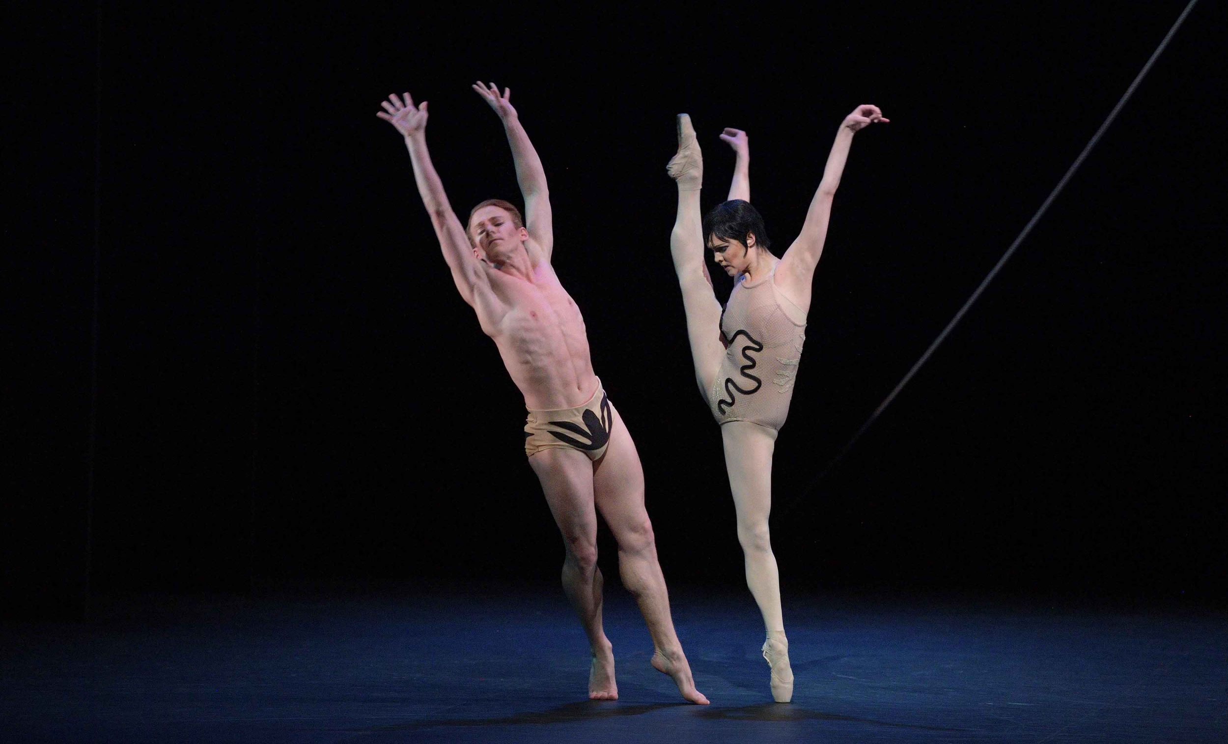Jurgita-Dronina-and-Matthew-Astley-in-The-Cage-by-Jerome-Robbins-©--Laurent-Liotardo