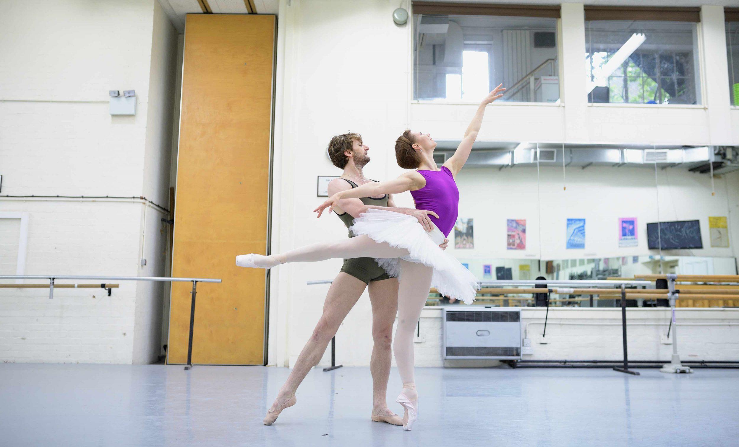 Maria-Alexandrova-and-Aaron-Robison-rehearsing-The-Sleeping-Beauty-©-Laurent-Liotardo-(2)