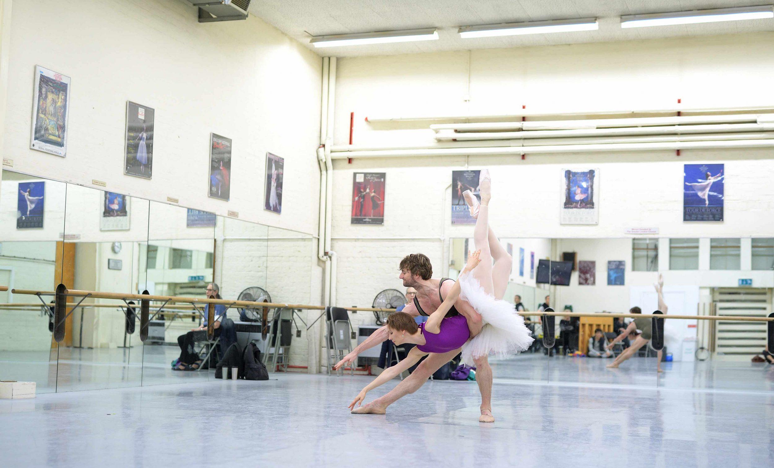 Maria-Alexandrova-and-Aaron-Robison-rehearsing-The-Sleeping-Beauty-©-Laurent-Liotardo-(3)