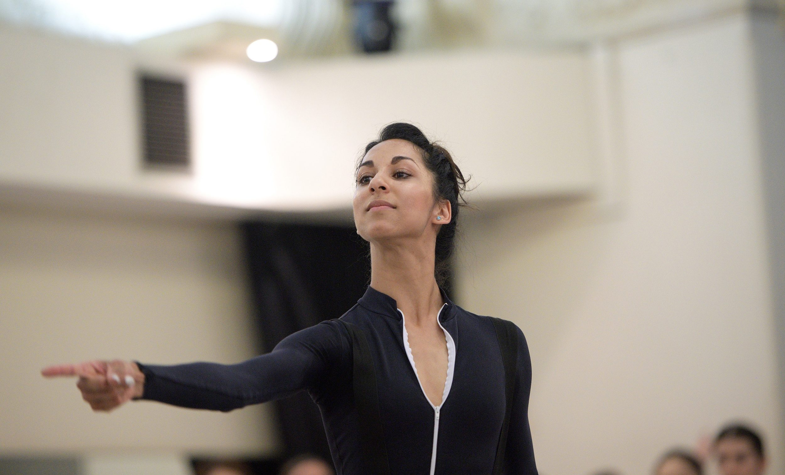 Sarah Kundi rehearsing The Sleeping Beauty © Laurent Liotardo (2)_WEB