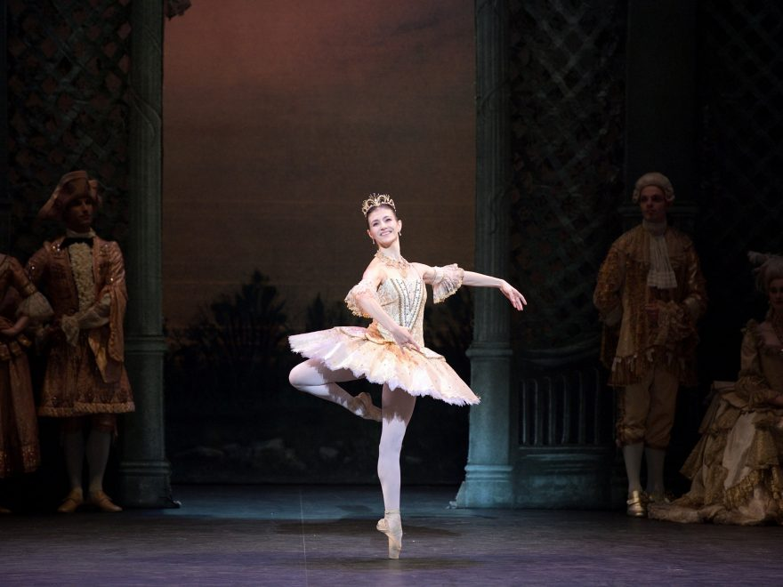 Alina Cojocaru as Princess Aurora in English National Ballet's The Sleeping Beauty (c) Laurent Liotardo