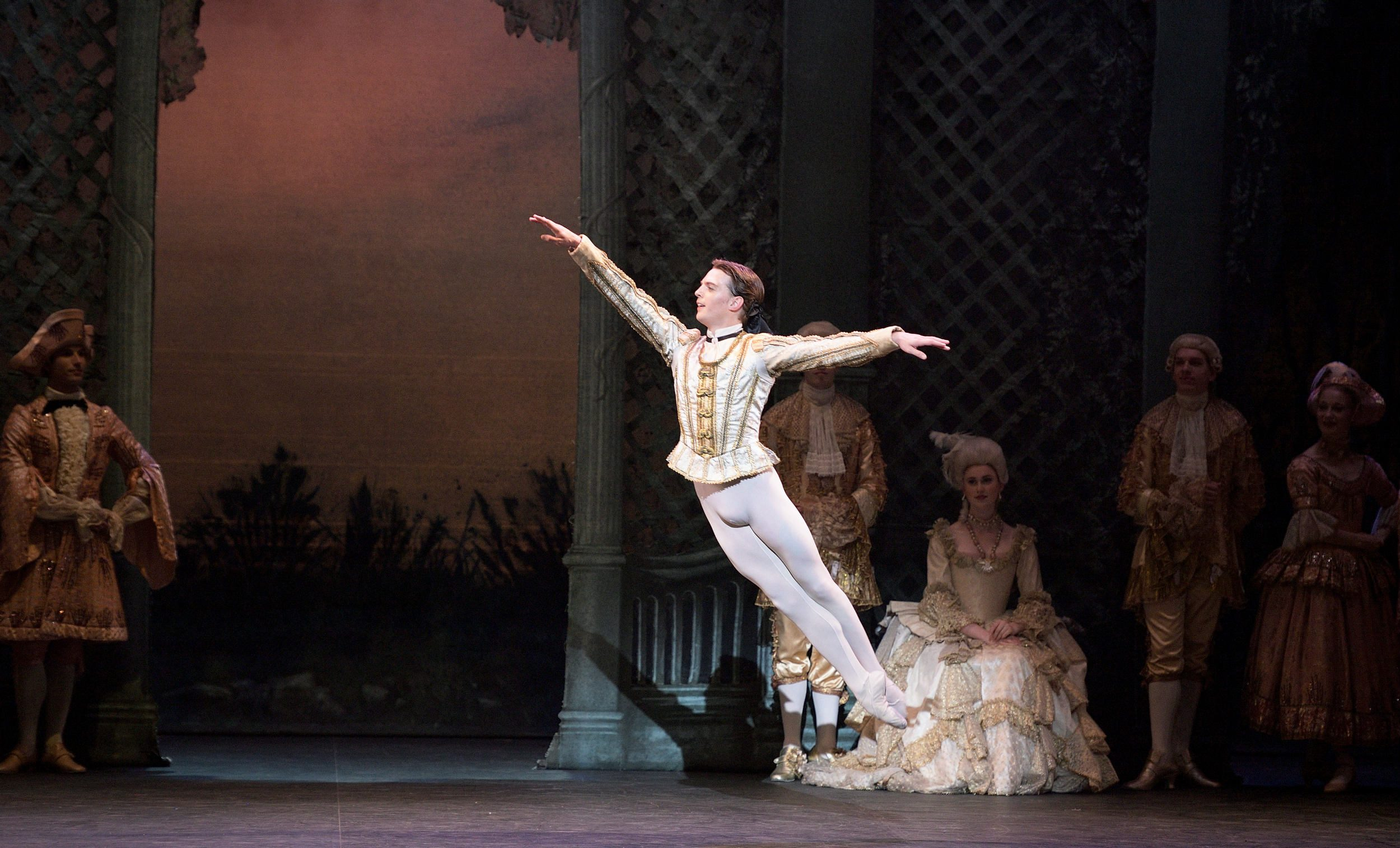 WEBSITE - Joseph Caley as Prince Désiré in English National Ballet's The Sleeping Beauty (c) Laurent Liotardo