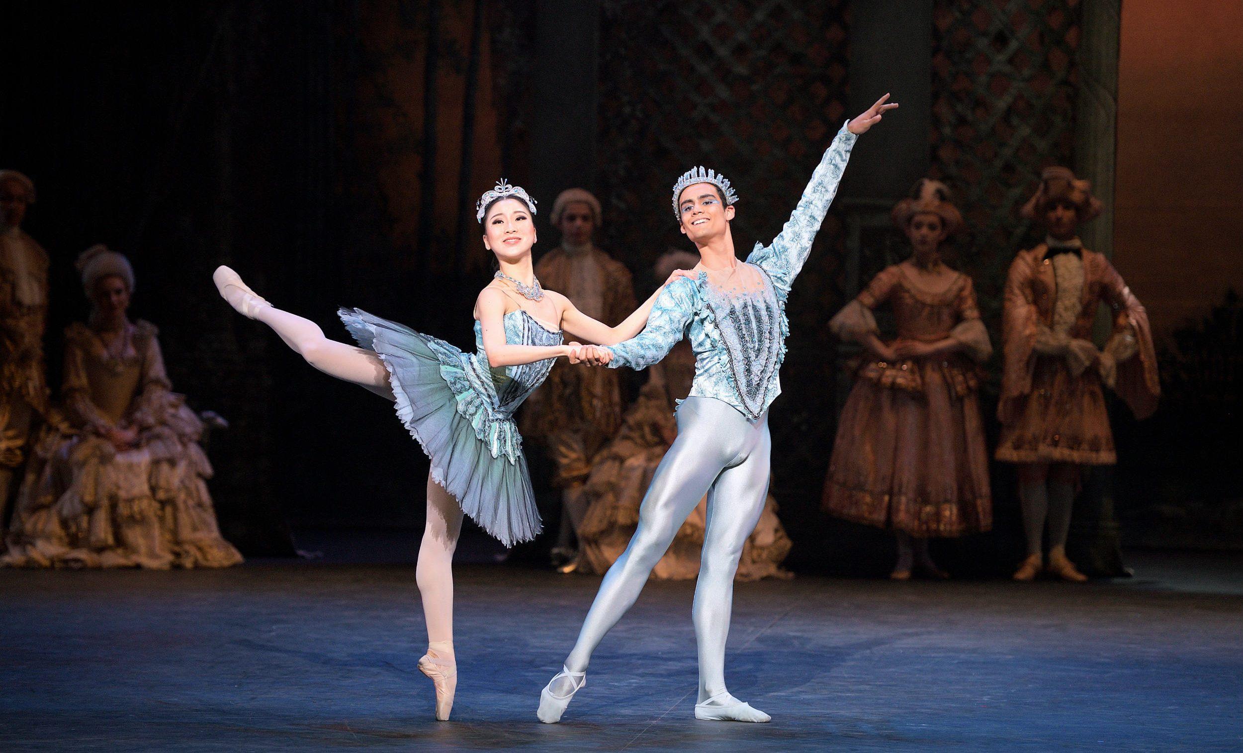 Rina Kanehara, Daniel McCormick-The Bluebird and Princess Florine in The Sleeping Beauty (c)Laurent Liotardo