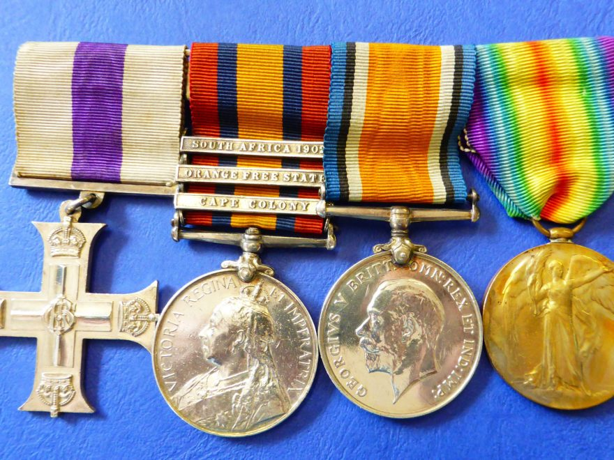 Medals of Captain Henry Haughey M.C