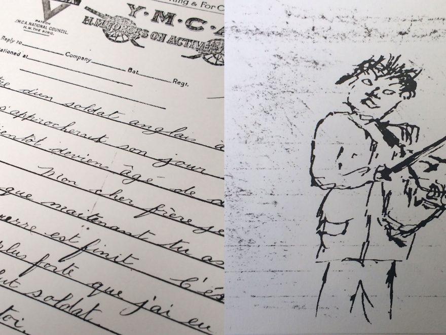 Details of Malcom Scrivener letters