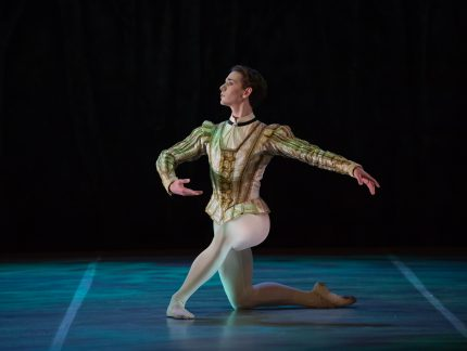 Eric Snyder and his princely turn in My First Ballet: Sleeping Beauty