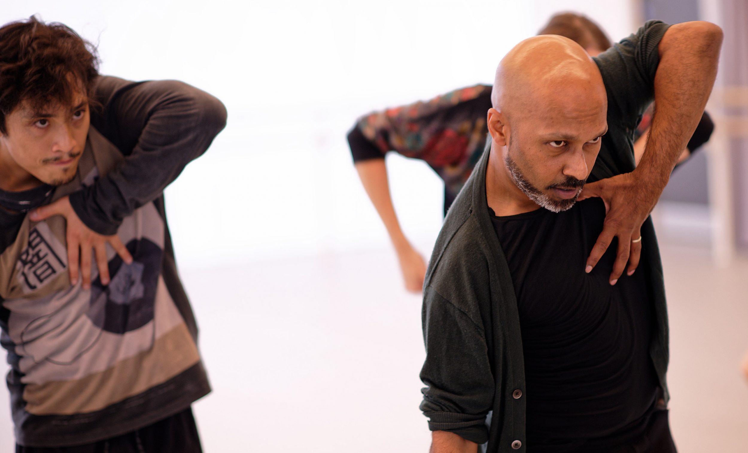 Creature R&D week: Jeffrey Cirio and Akram Khan © Laurent Liotardo