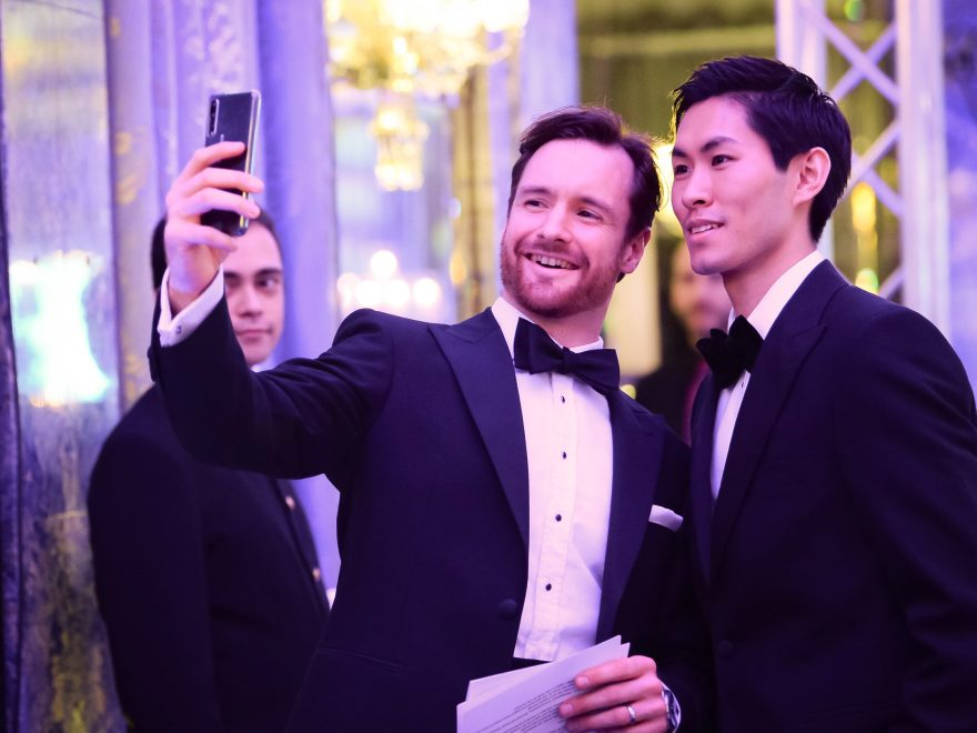 James Streeter and Ken Saruhashi at English National Ballet's Spring Gala 2019 at The Dorchester © Photography by ASH