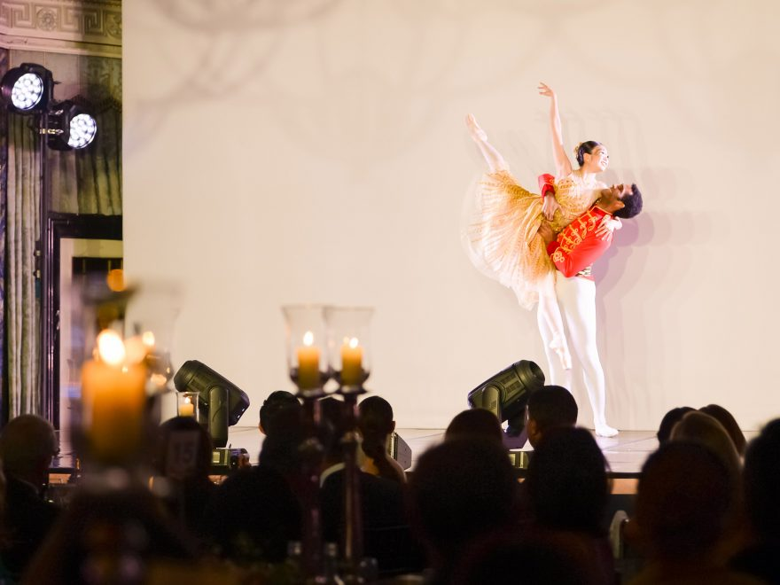 Shiori Kase and Junor Souza performing an extract from Christopher Wheeldon's Cinderella at our Spring Gala 2019 © Photography by ASH