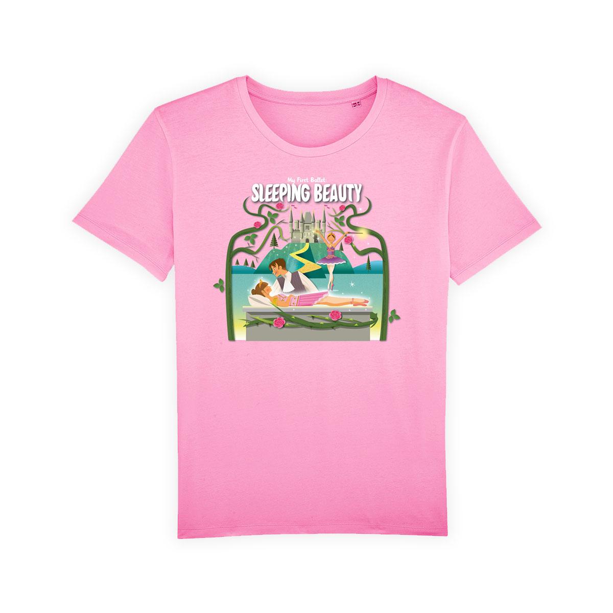 t-shirt-pink-text