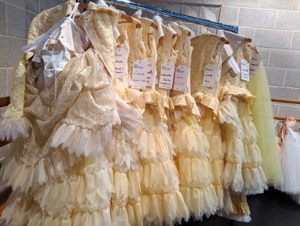 Creating Cinderella's costumes