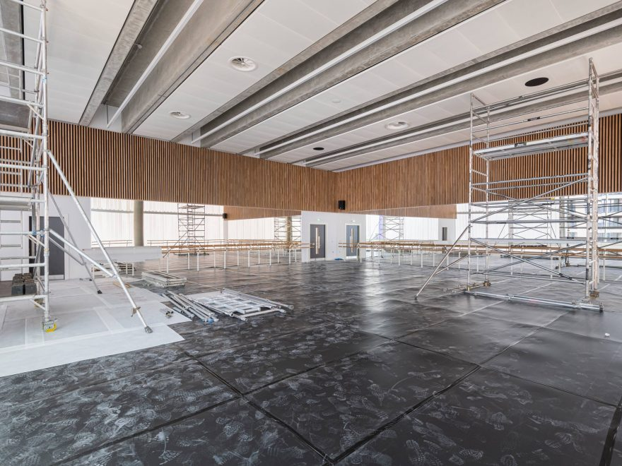 A studio in English National Ballet's new home © Michael Molloy