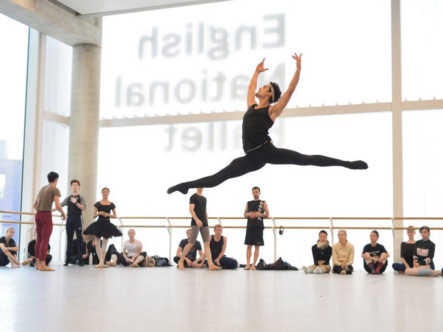 Daniel McCormick in Le Corsaire rehearsals (c) Laurent Liotardo