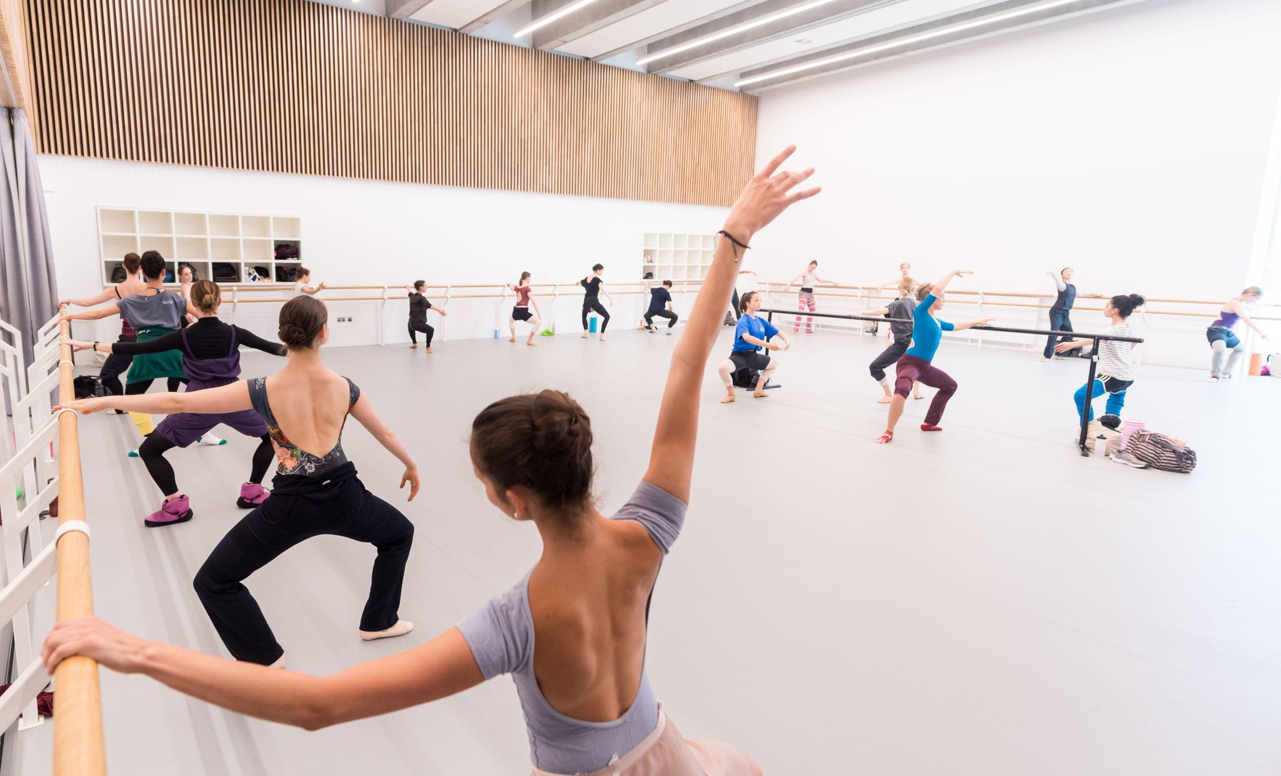 PRESS English National Ballet's new home on London City Island - rehearsal studio - (C) Ian Gavan