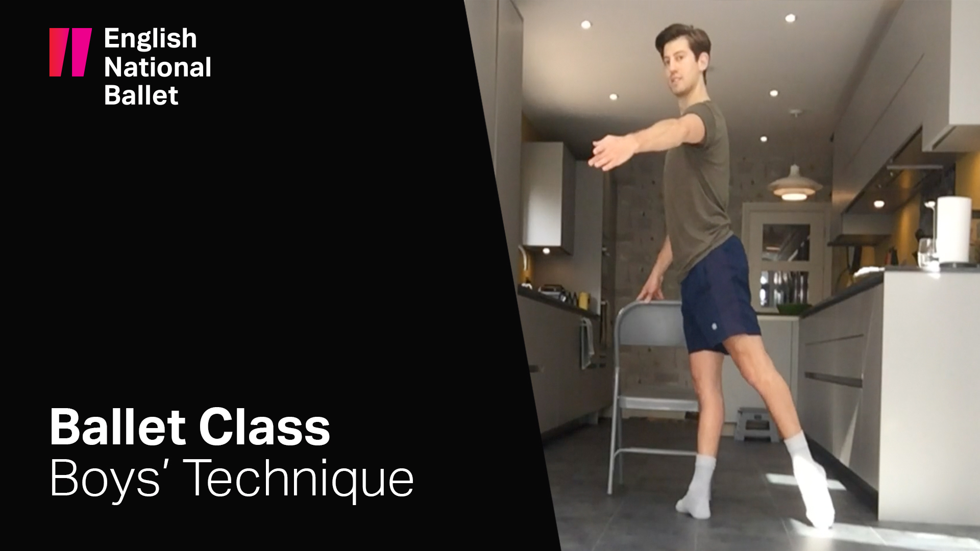 Ballet class for boys (11-16 years) | English National Ballet