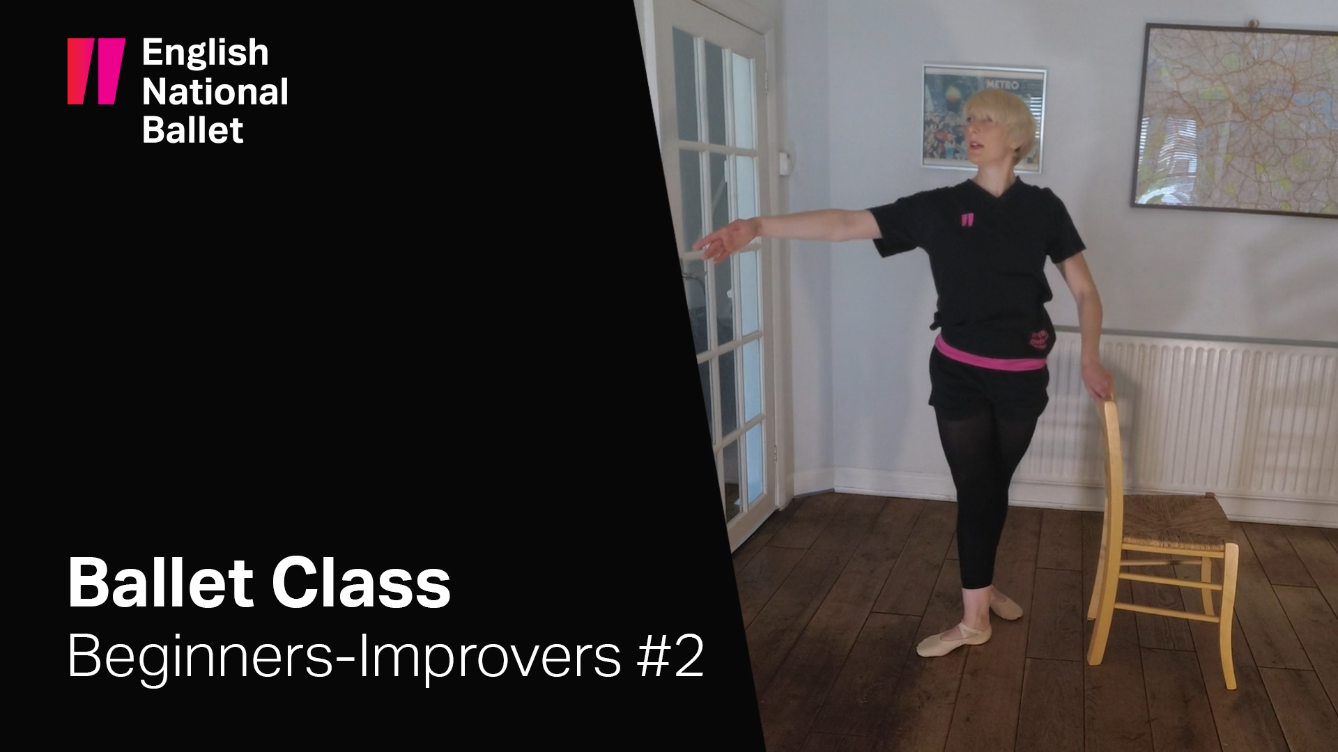 Beginners-Improvers Ballet Class #2: ENB at Home | English National Ballet