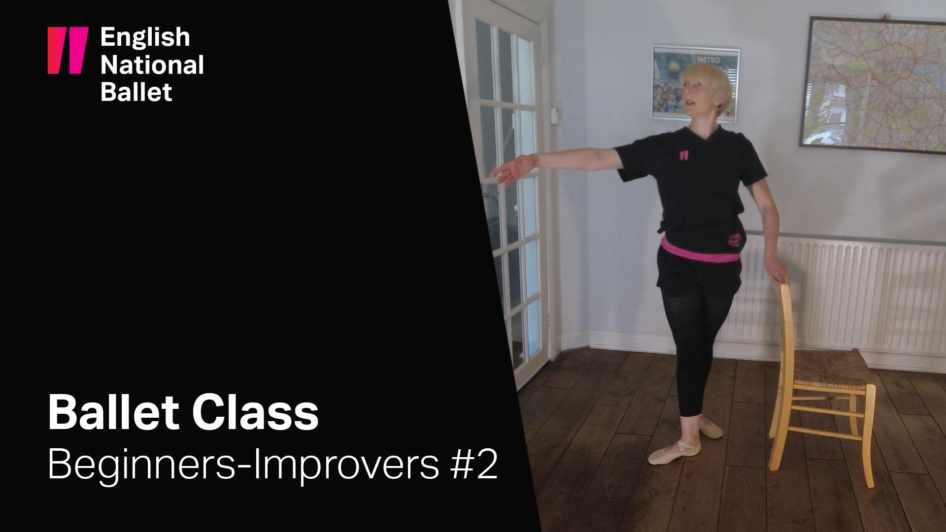 Beginners-Improvers Ballet Class #2 | English National Ballet