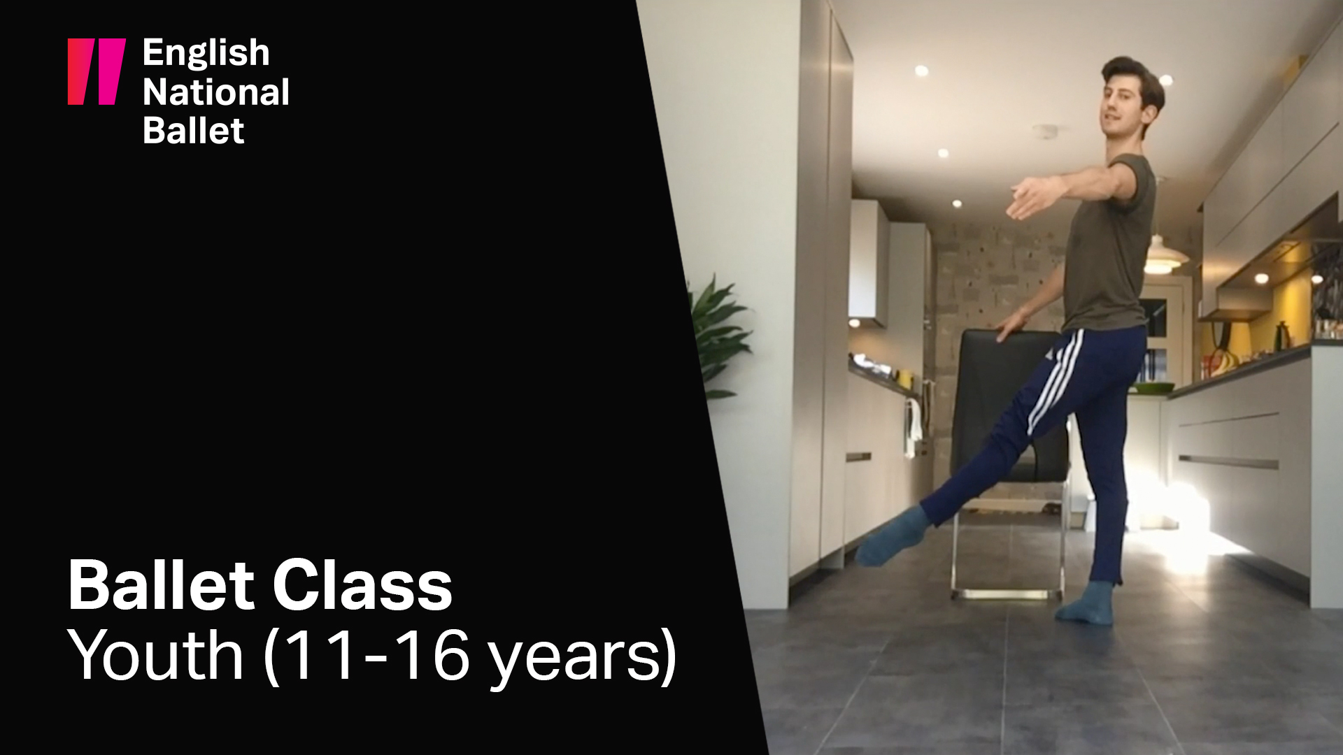 Youth Ballet Class (11-16 Years) | English National Ballet