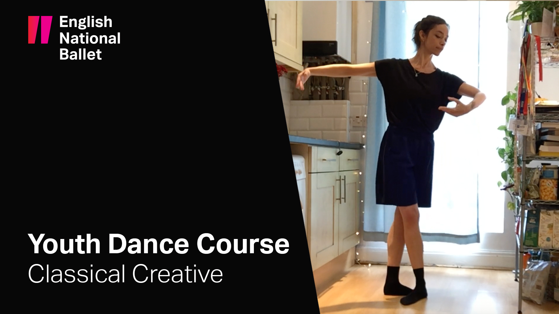 Youth Dance Course: Classical Creative with Louise Bennett | English National Ballet