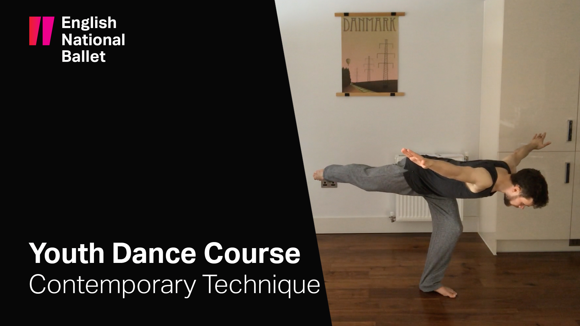 Youth Dance Course: Contemporary Technique with James Müller | English National Ballet